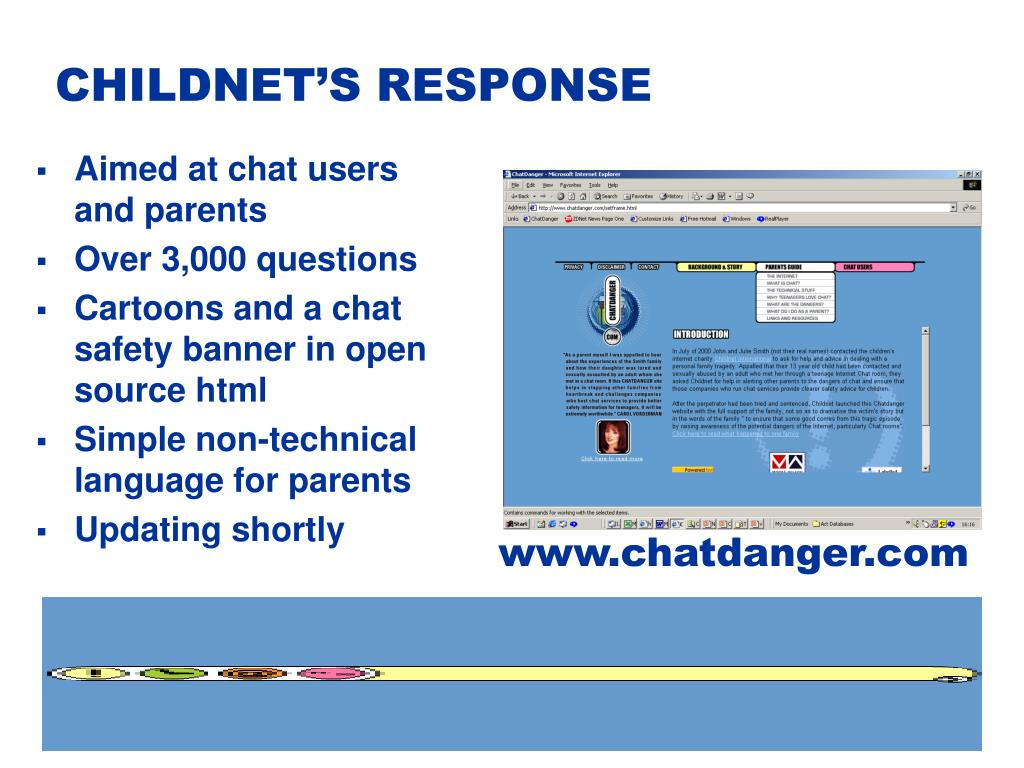 CHILDNET'S RESPONSE