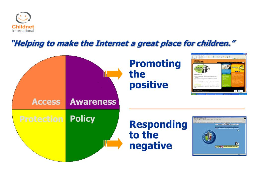 Childnet is a charity established in 1995 to