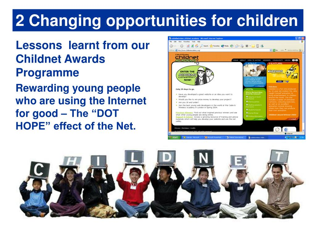 2 Changing opportunities for children