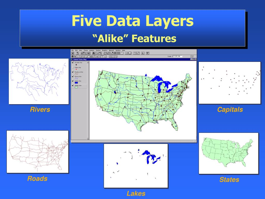 Five Data Layers