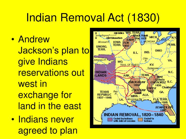 Indian Removal Act PPT - Economic Develop...