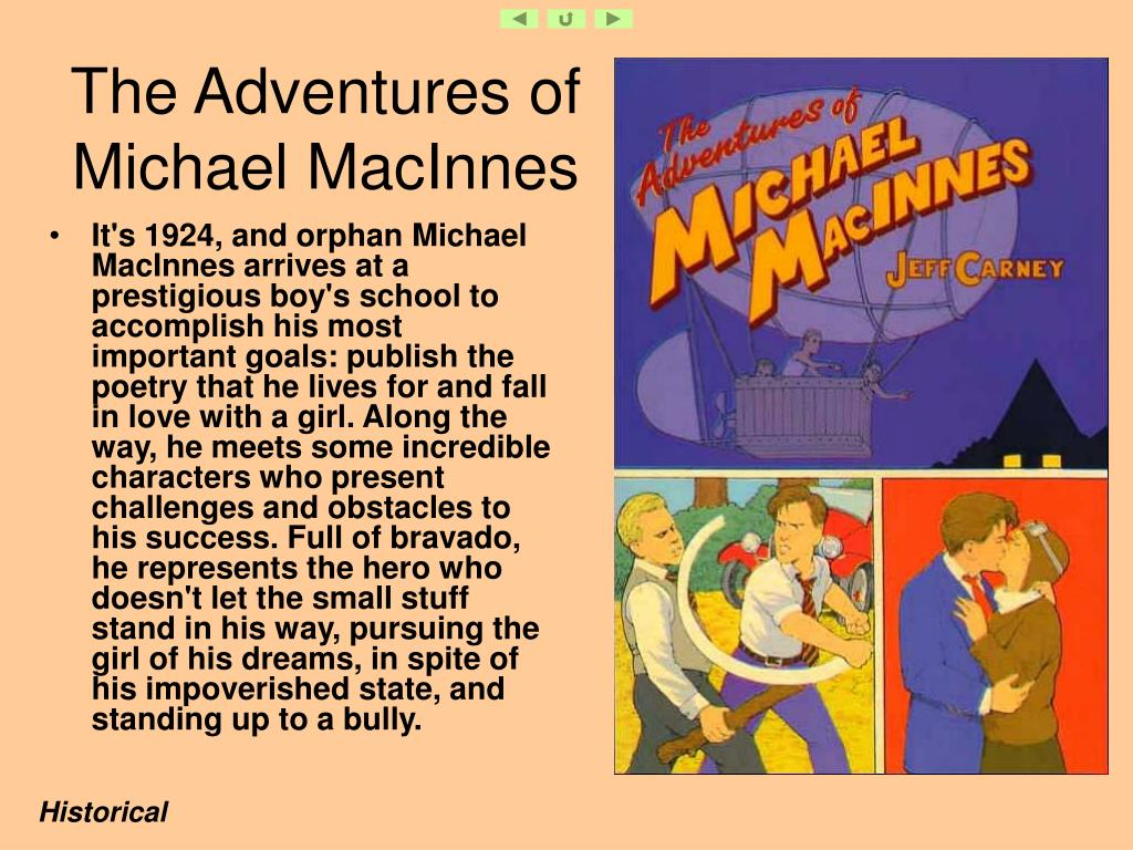 The Adventures of Michael MacInnes