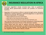 insurance regulation in africa