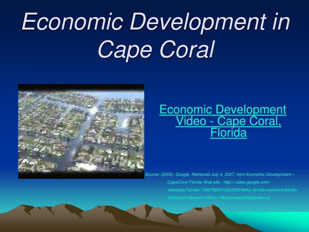 Economic Development in Cape Coral