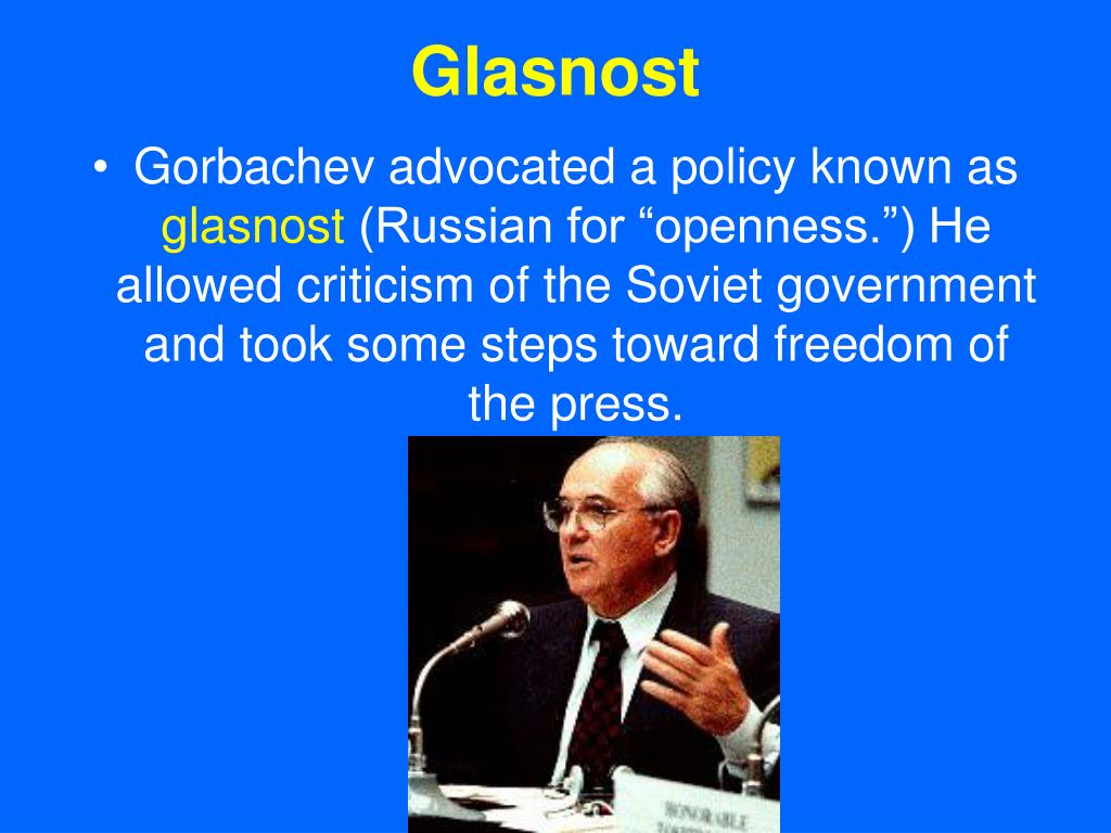 gorbachev perestroika and the fall of the soviet union essay Essay written to answer the question: to what extent were glasnost and  perestroika successful policies  politics of the soviet union soviet union  politics mikhail gorbachev  topic 5: studies of power: collapse of communism  essay.