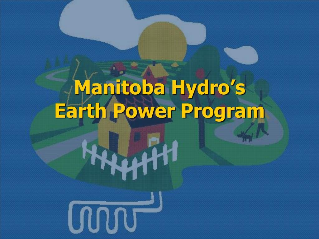 Manitoba Hydro's