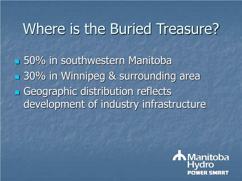 Where is the Buried Treasure?