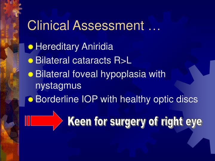 Clinical Assessment