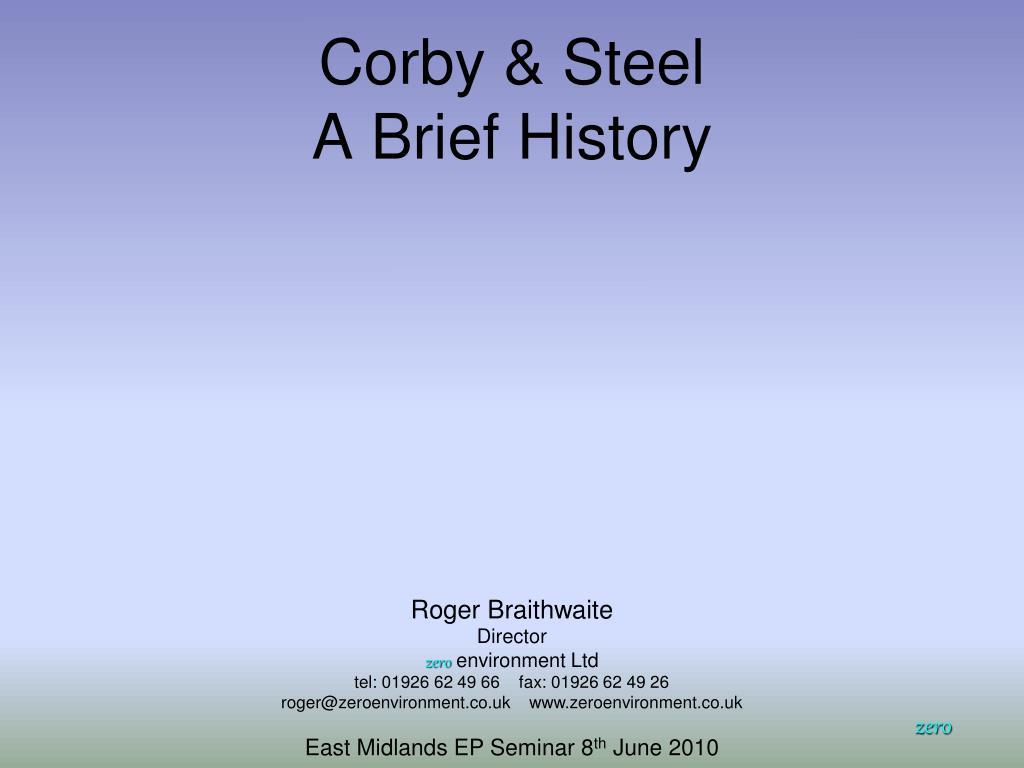 Corby & Steel
