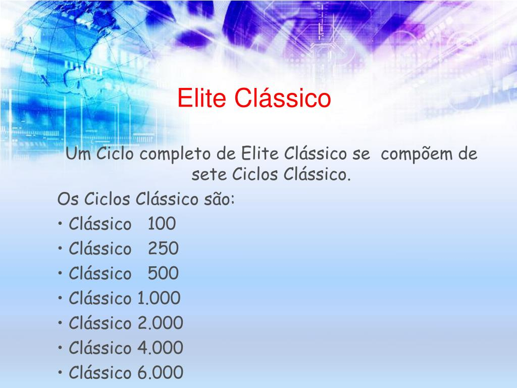Elite Clássico