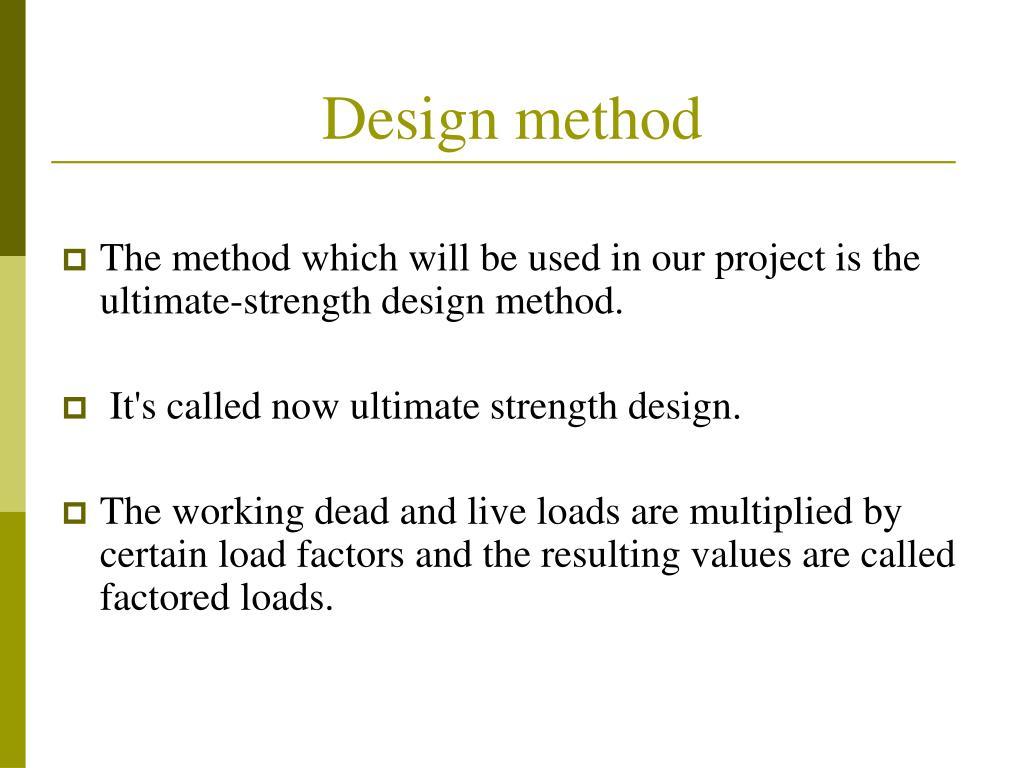 Design method