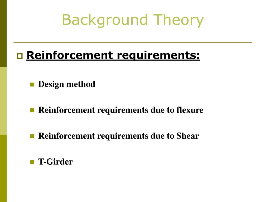 Background Theory