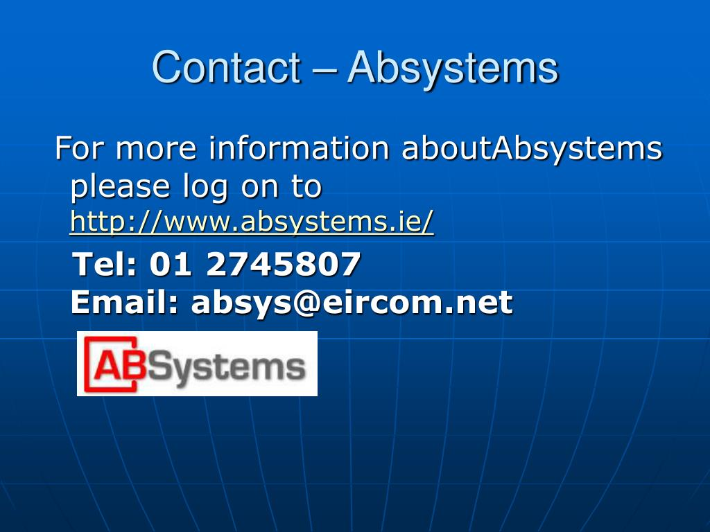 Contact – Absystems