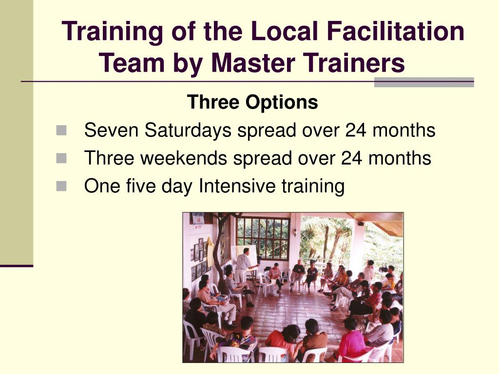 Training of the Local Facilitation