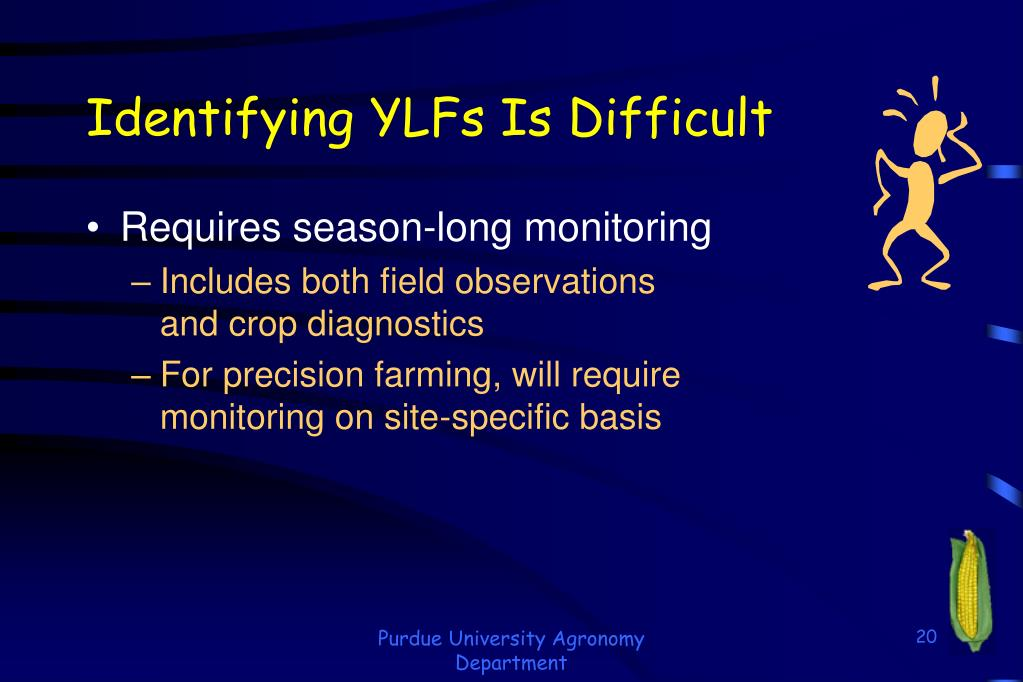 Identifying YLFs Is Difficult