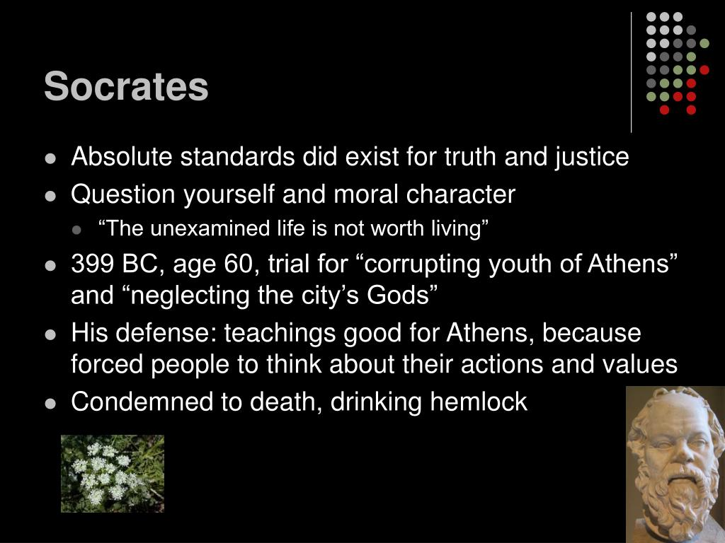 defense on socrates