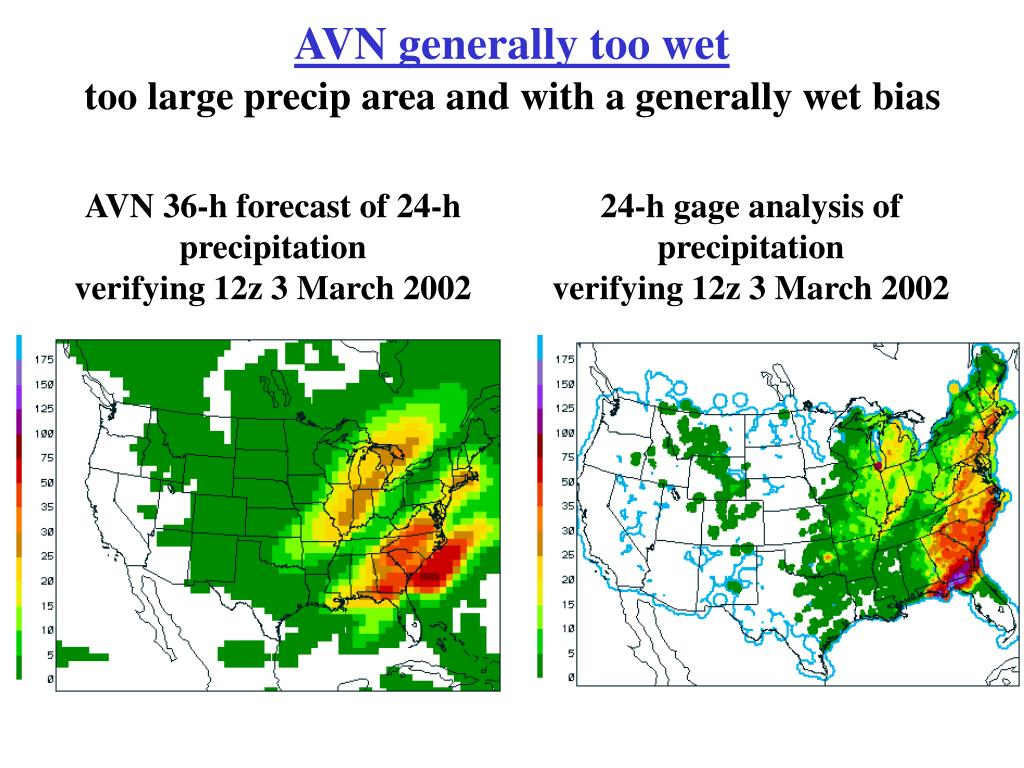 AVN generally too wet