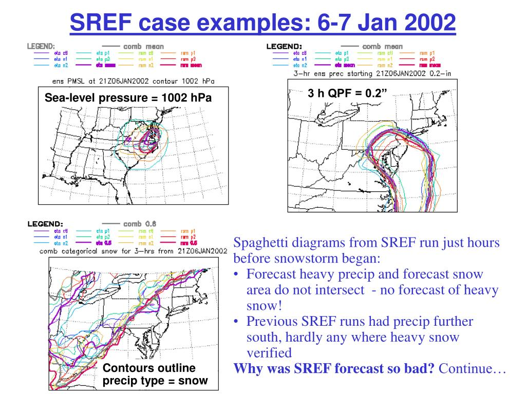 SREF case examples: 6-7 Jan 2002