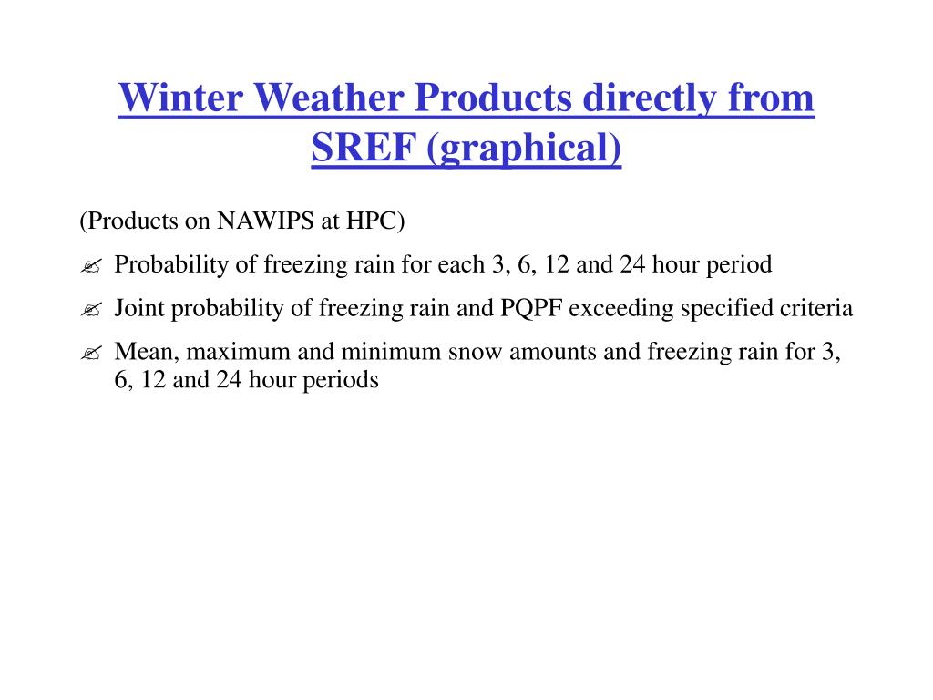 Winter Weather Products directly from