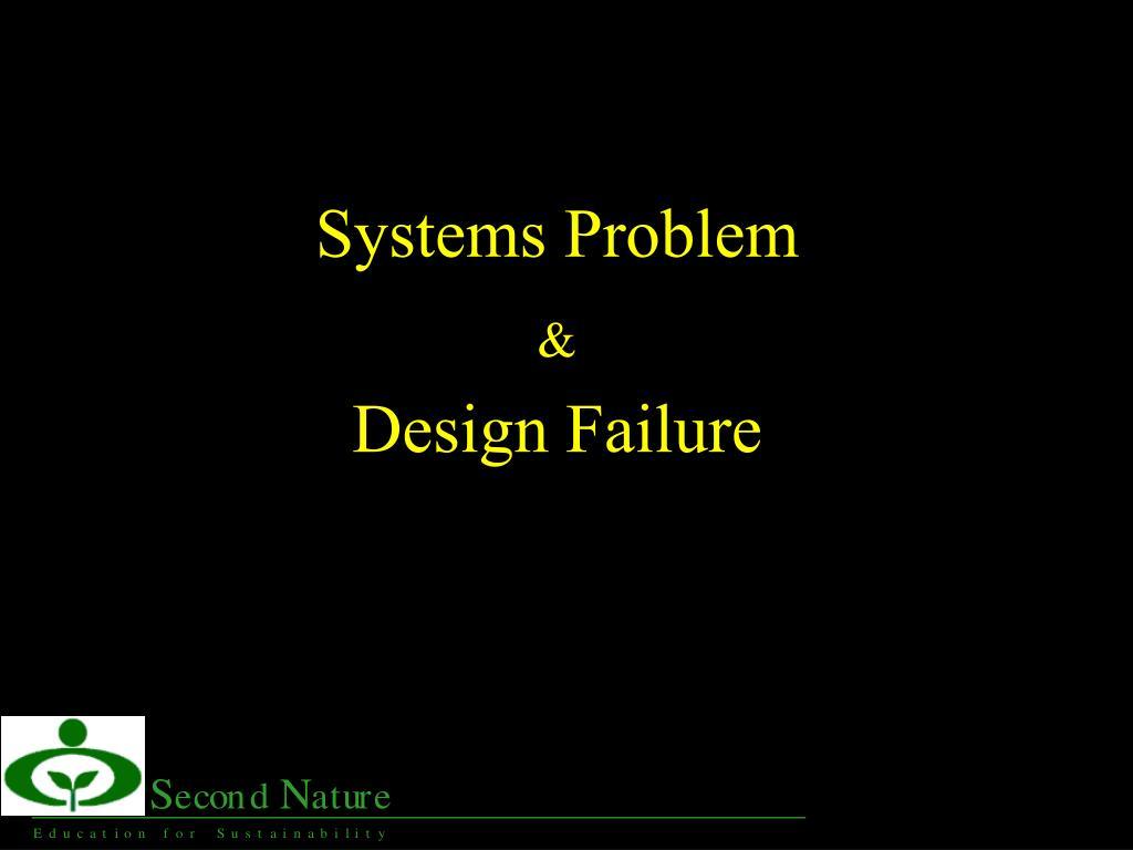 Systems Problem