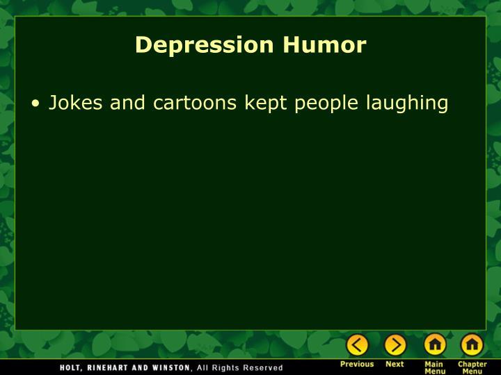 Depression Humor