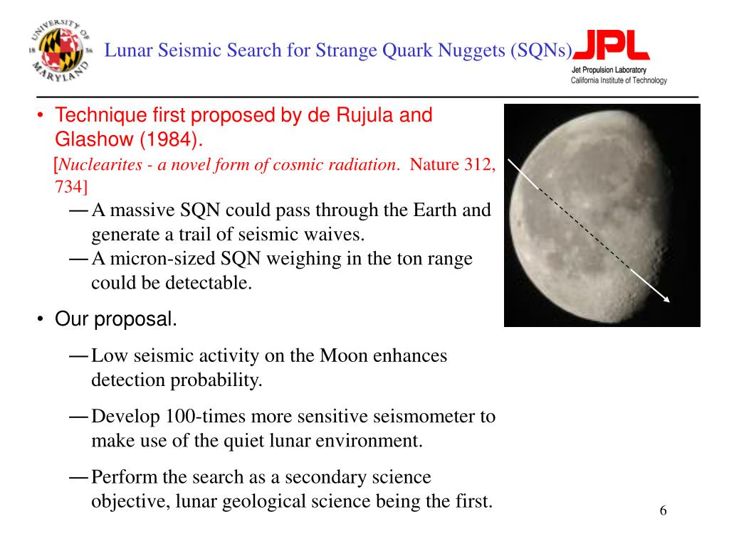 Lunar Seismic Search for Strange Quark Nuggets (SQNs)