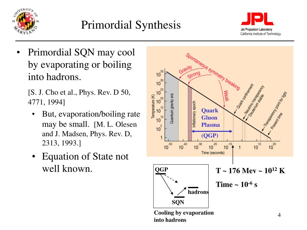 Primordial Synthesis
