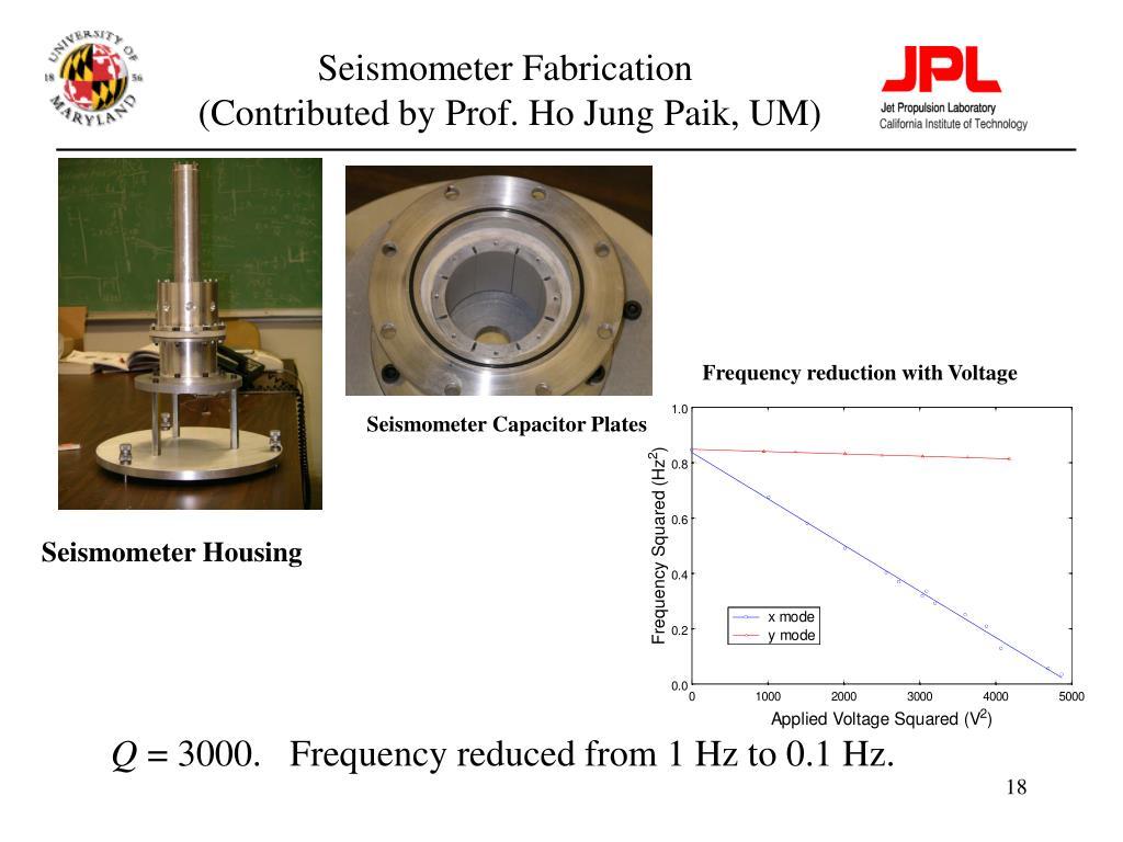 Seismometer Fabrication