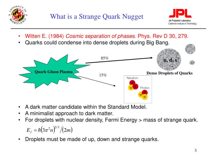 What is a strange quark nugget