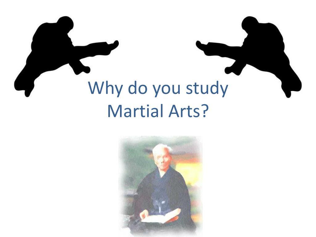 why do you study martial arts