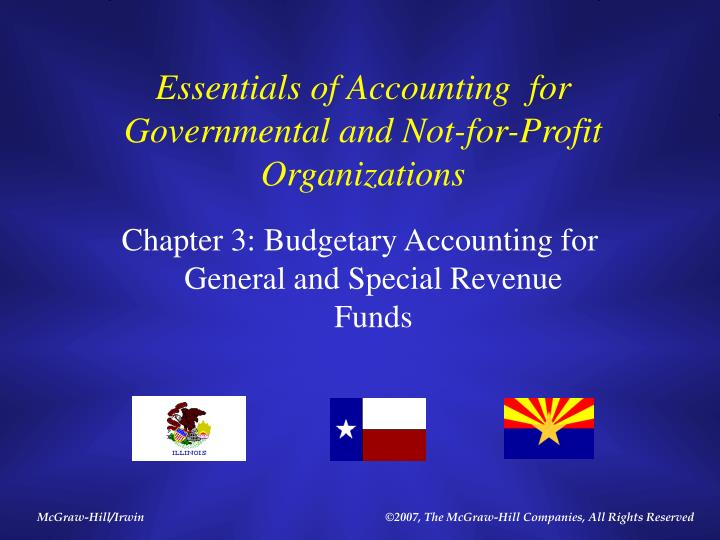 Essentials of accounting for governmental and not for profit organizations l.jpg