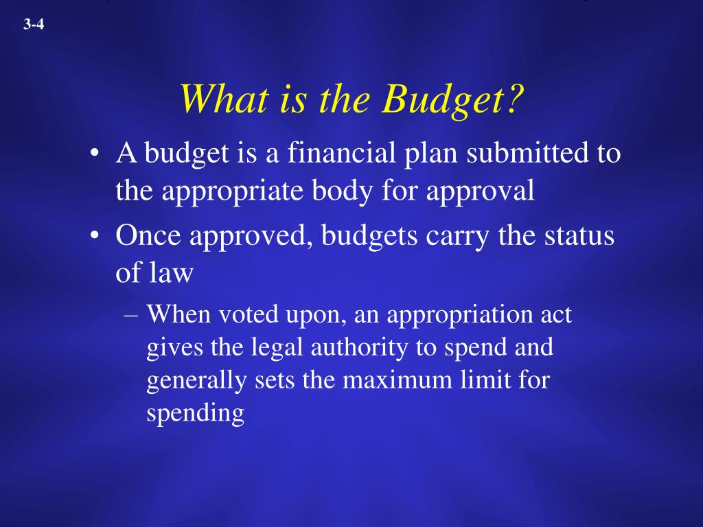 What is the Budget?