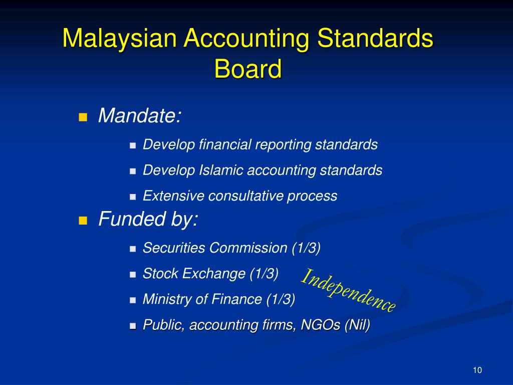 Malaysian Accounting Standards Board