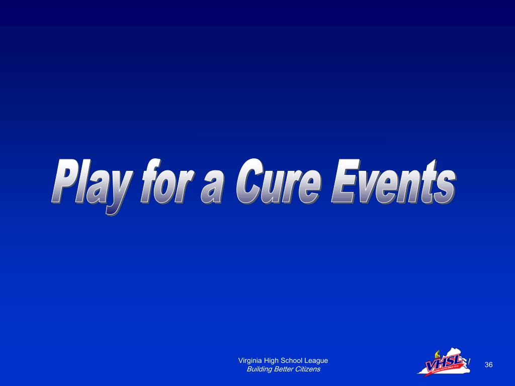 Play for a Cure Events