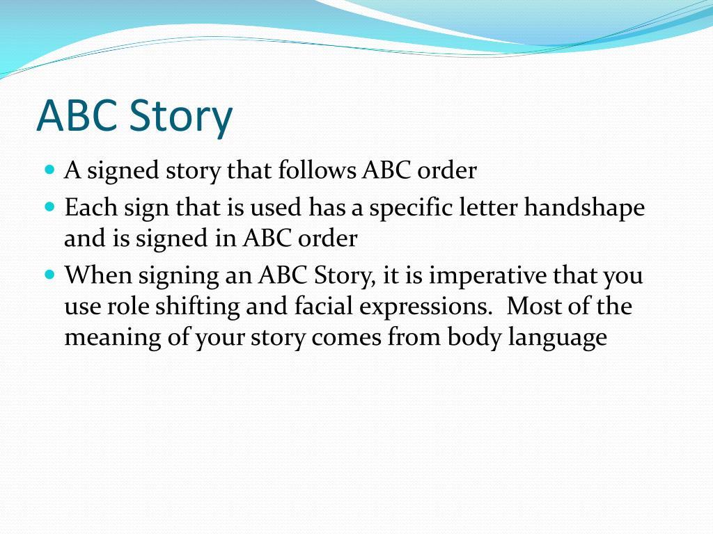 ABC Story