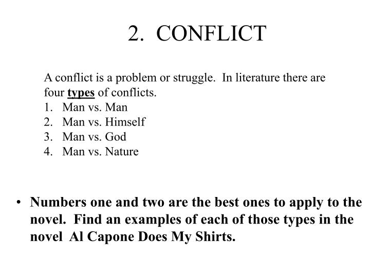 2.  CONFLICT