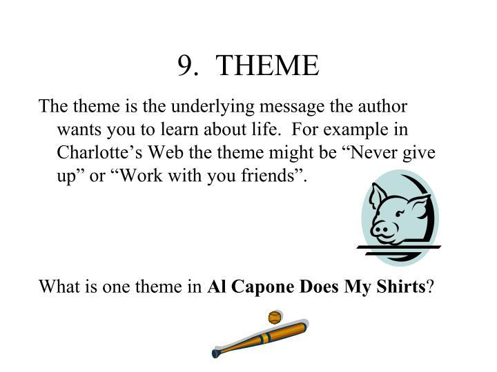 9.  THEME