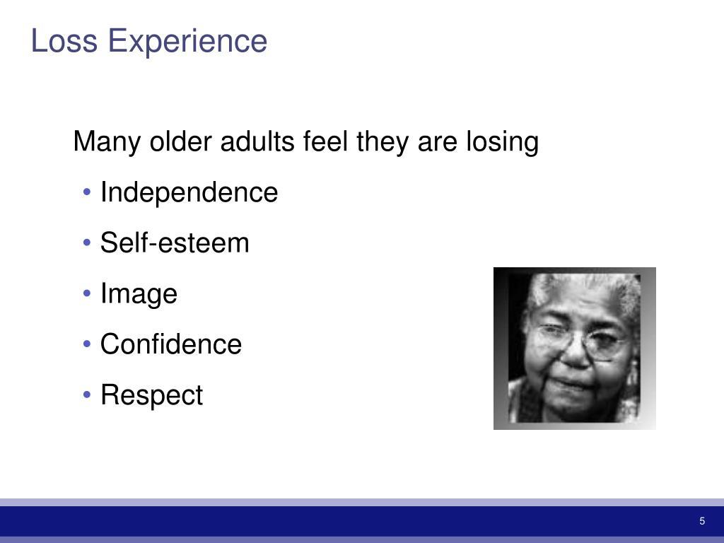 Loss Experience