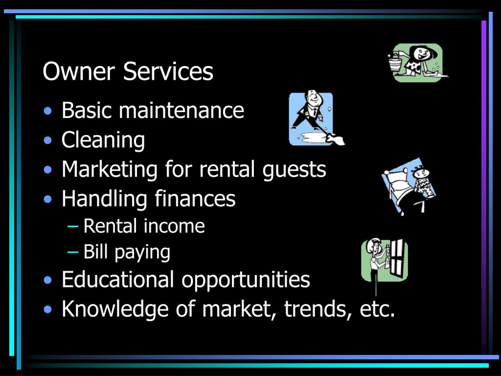 Owner Services