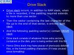 drive slack