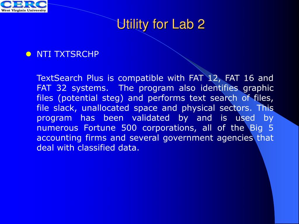 Utility for Lab 2