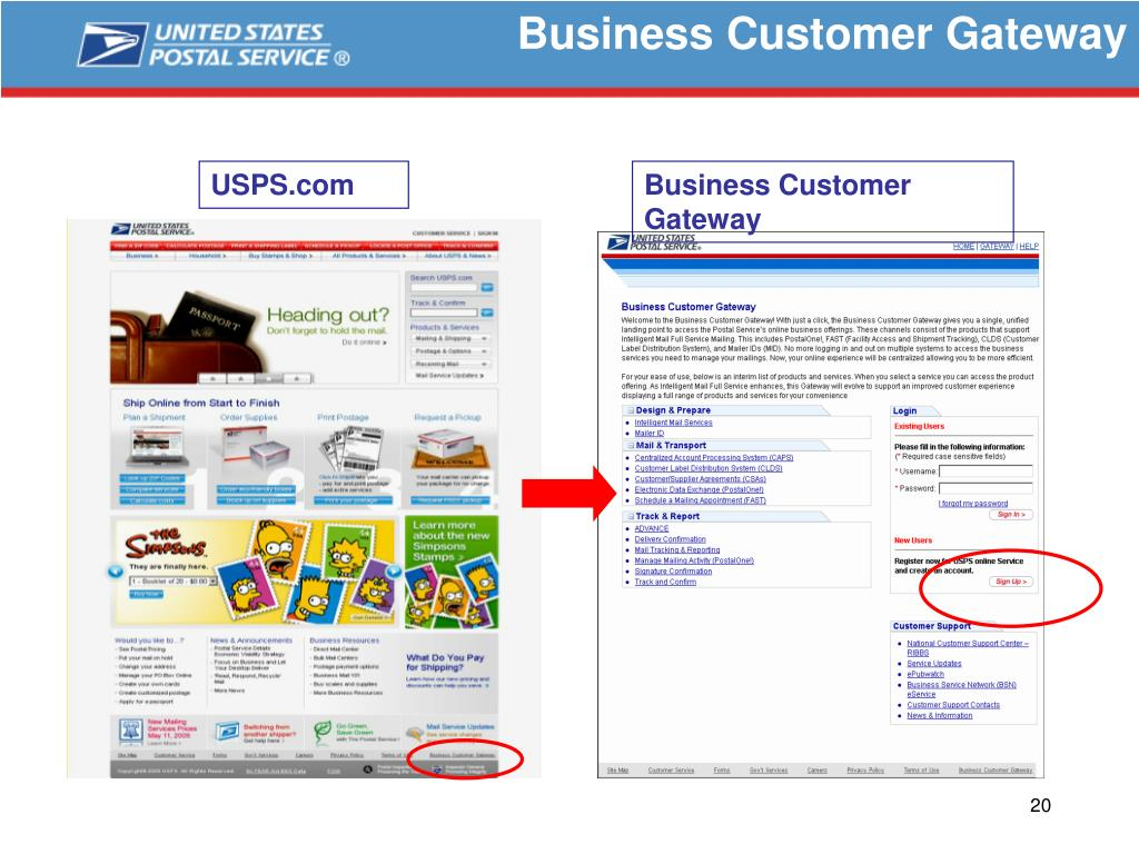 Business Customer Gateway