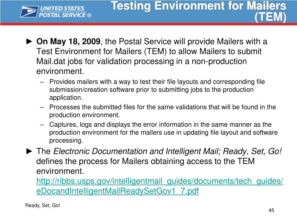 Testing Environment for Mailers (TEM)