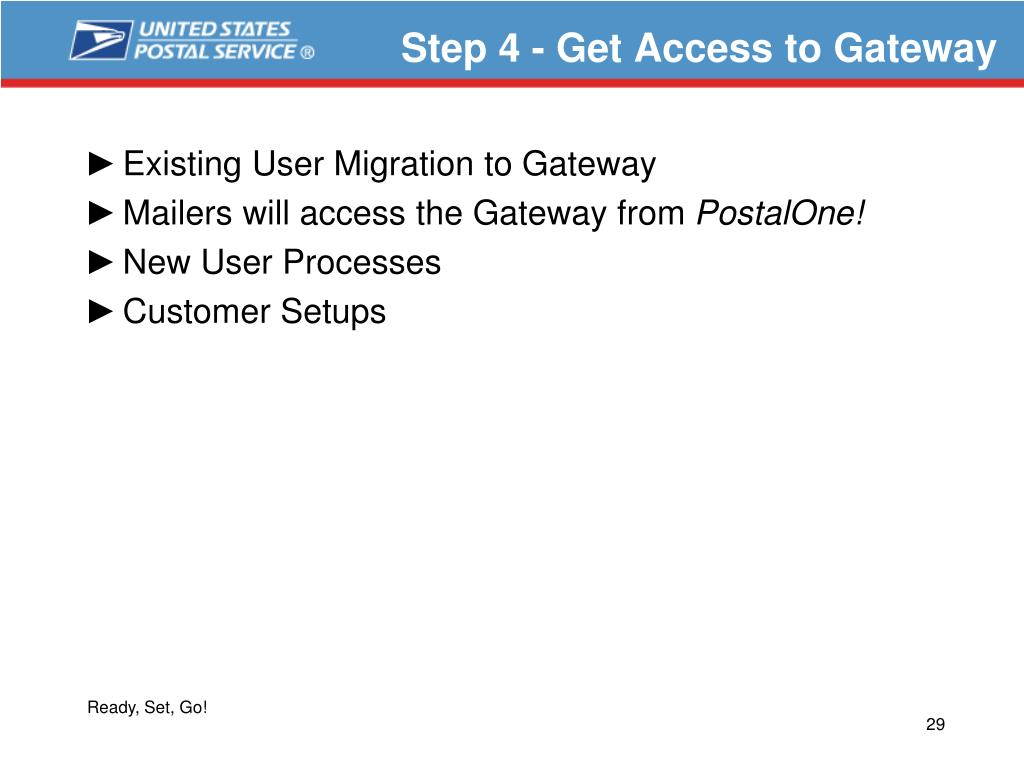 Step 4 - Get Access to Gateway