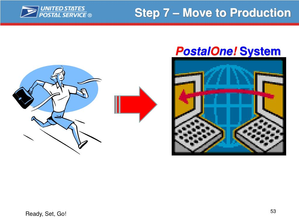 Step 7 – Move to Production