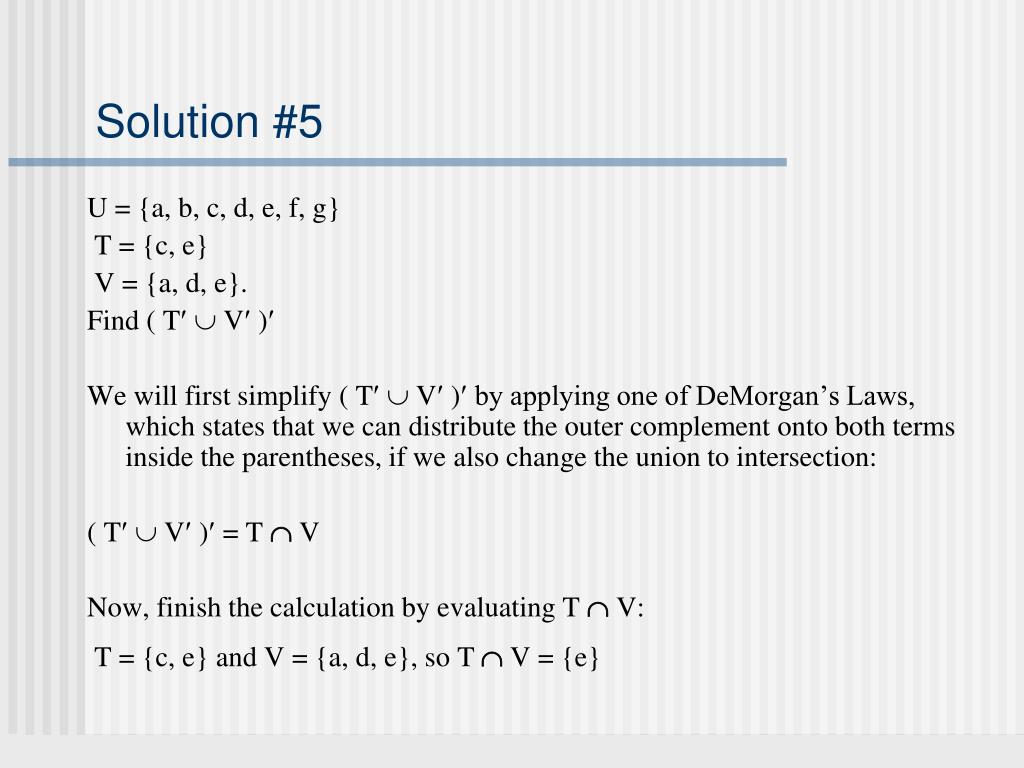 Solution #5