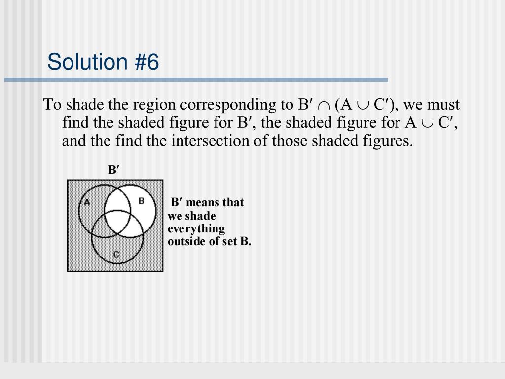 Solution #6