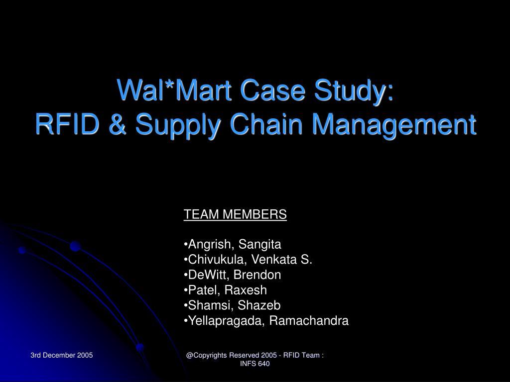 Wal*Mart Case Study: