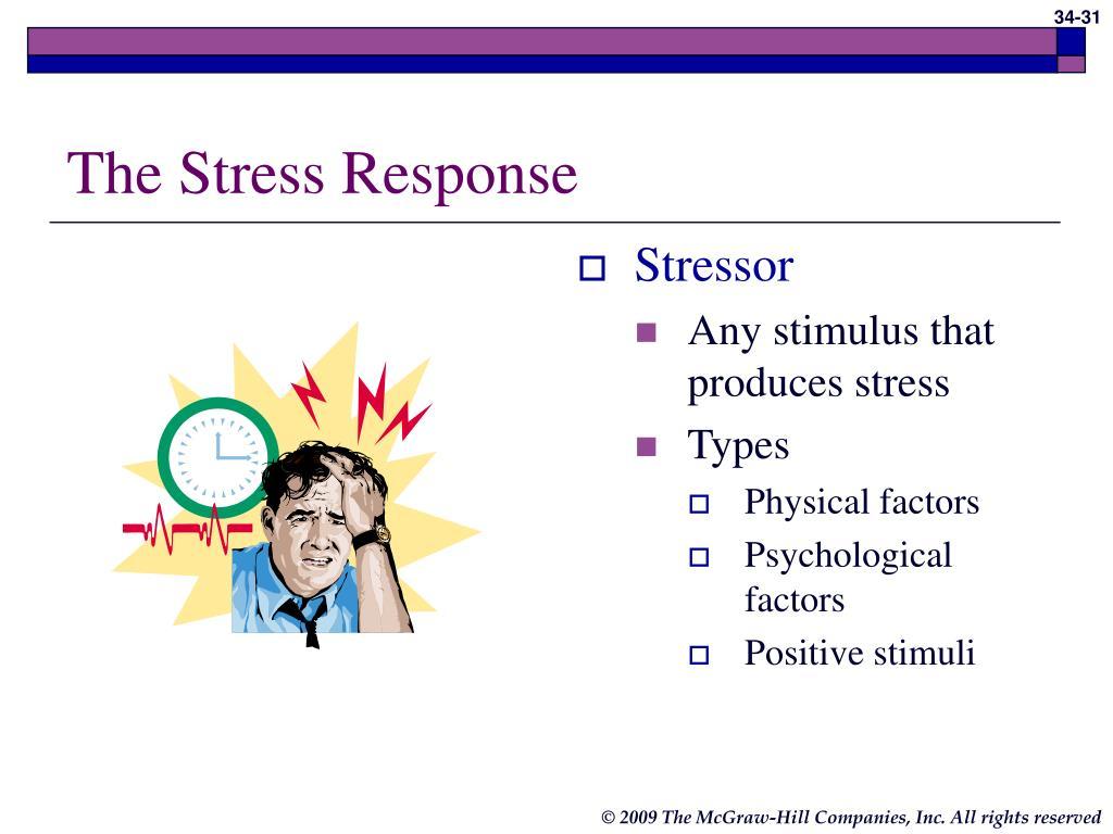 The Stress Response
