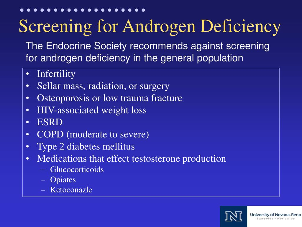 testosterone deficiency About testosterone deficiency syndrome to provide easy to digest, yet authoritative, patient friendly information we have compiled a series of short videos with.